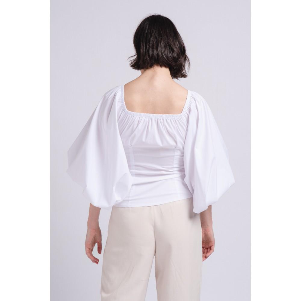 Blusa linda hombros libres
