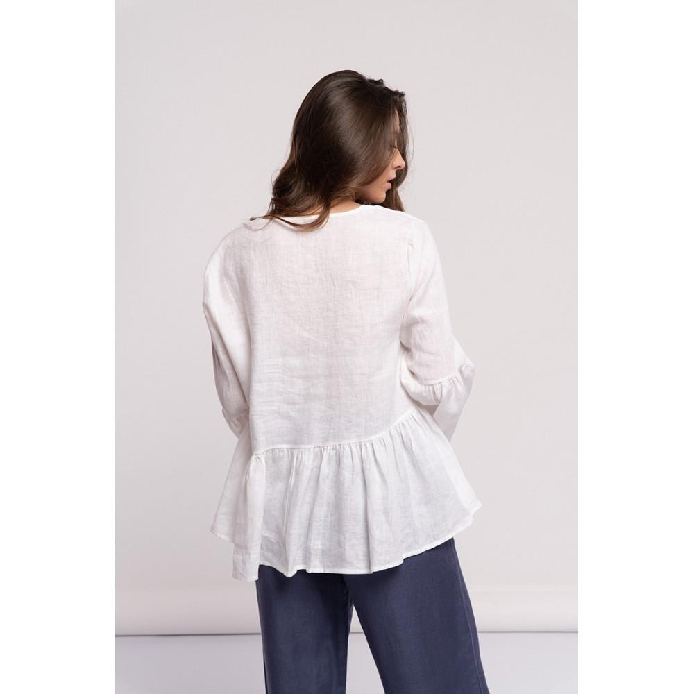 Blusa Tunica Branco.