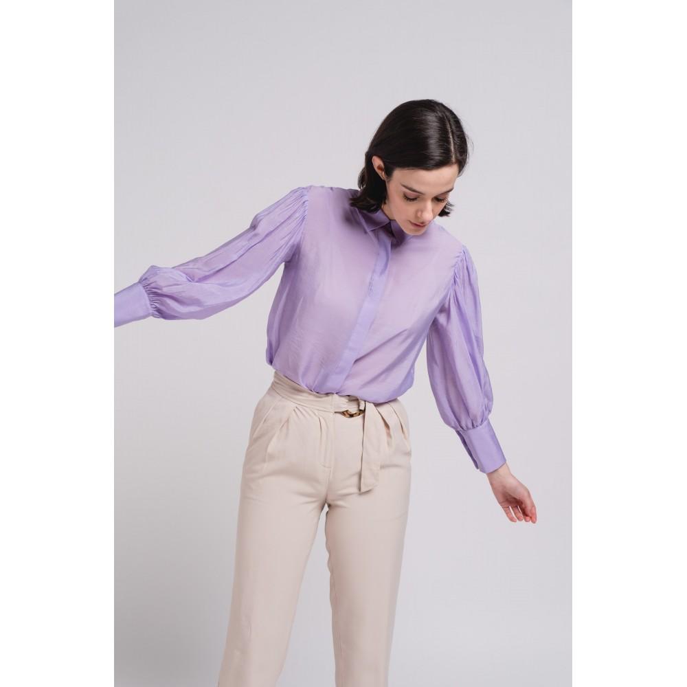 Blusa lila Deluxe Bolonia