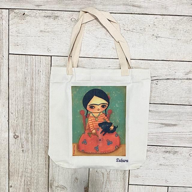 Bolsa Shopper Frida Pequeña