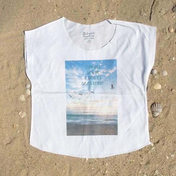 Camiseta-Mujer-Zahara-Viento