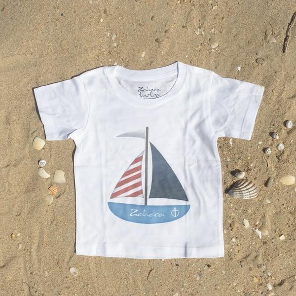 Camiseta Niño Barco Zahara