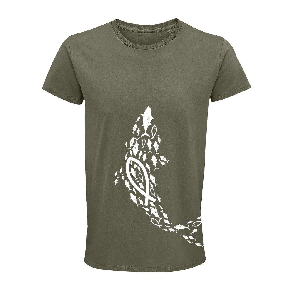 Camiseta OrgánicaAtunes de Zahara Caqui