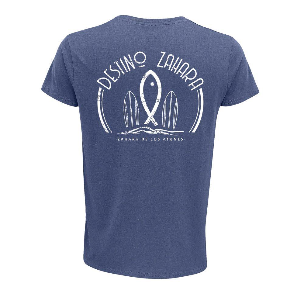 Camiseta Orgánica Zahara Surf blue denim