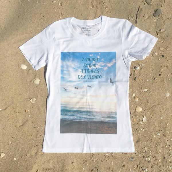 Camiseta-Soñar a traves del-Viento