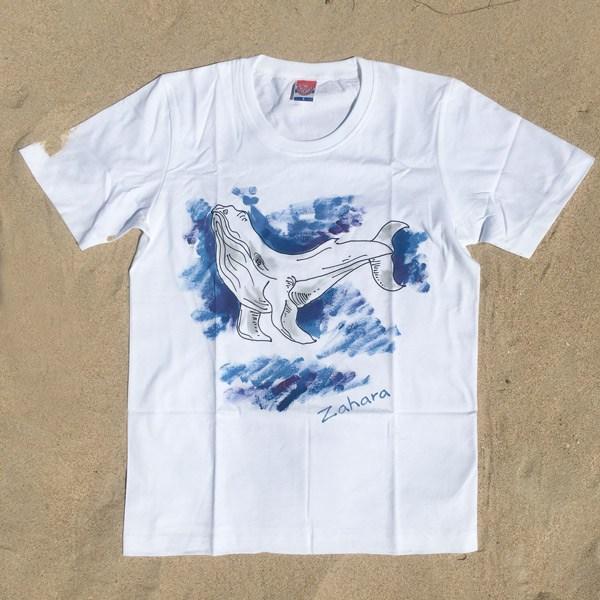 Camisetas Orca zahara Pintadas a Mano