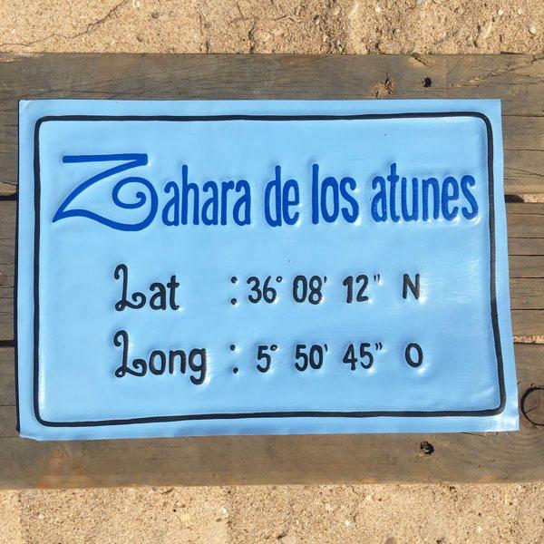 Chapas Cartel Vintage Zahara blue