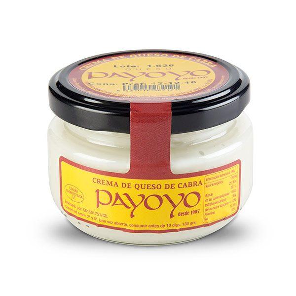 Crema Queso de cabra Payoyo