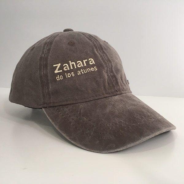 Gorra-zahara-denim-marron