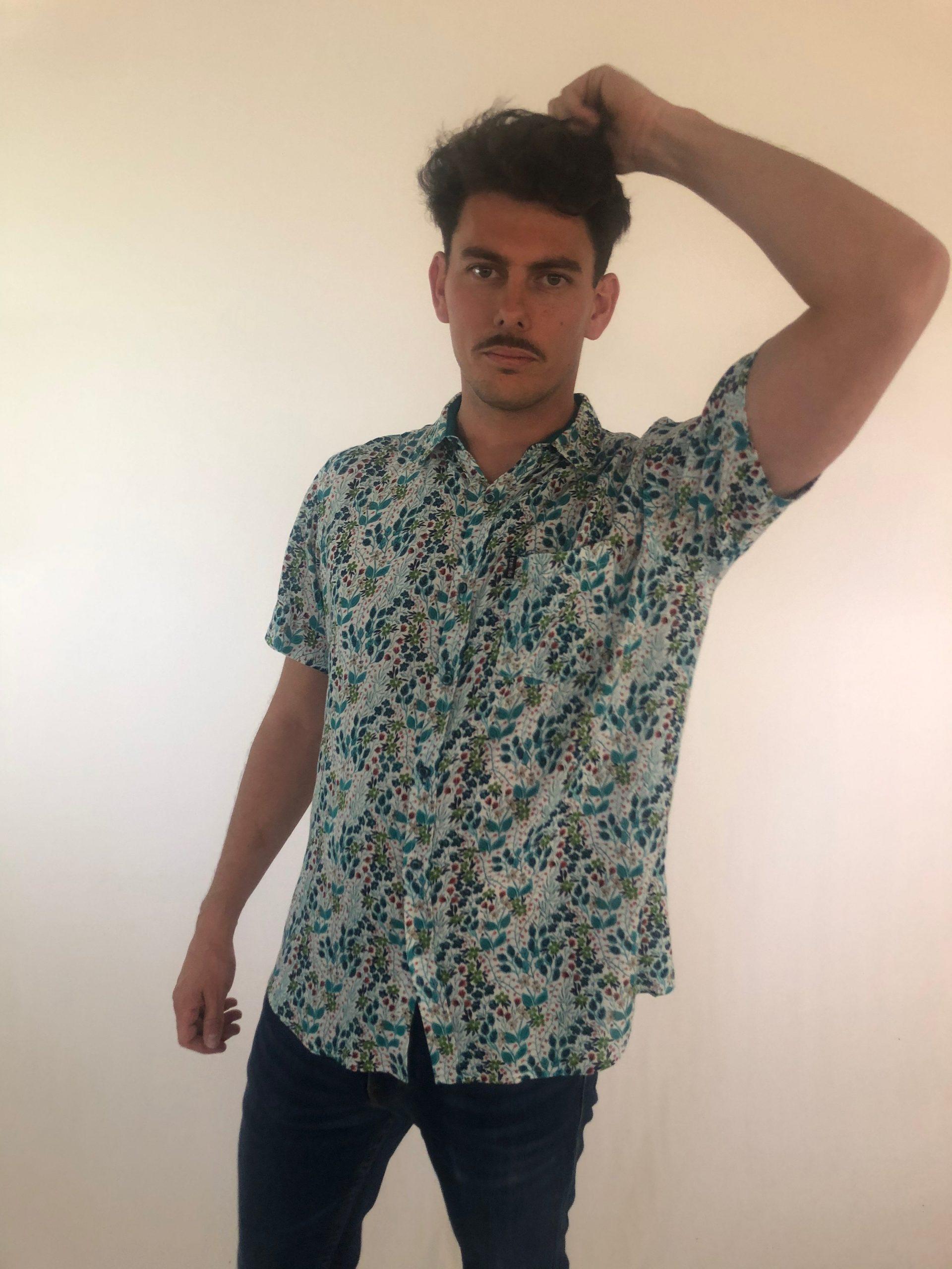 Camisa Funny Jardín Trankilo