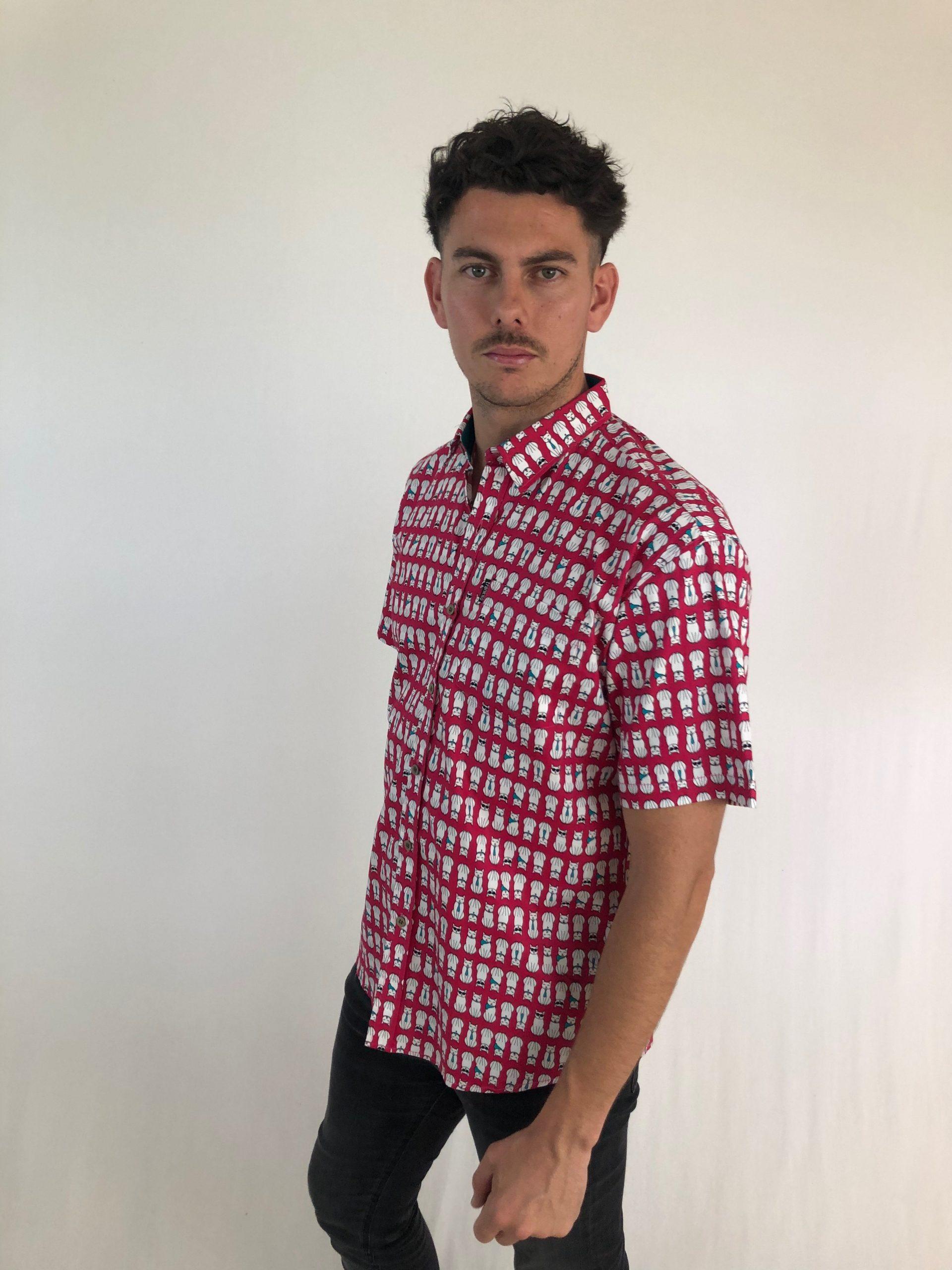 Camisas Trankilo Gatuno Zahara