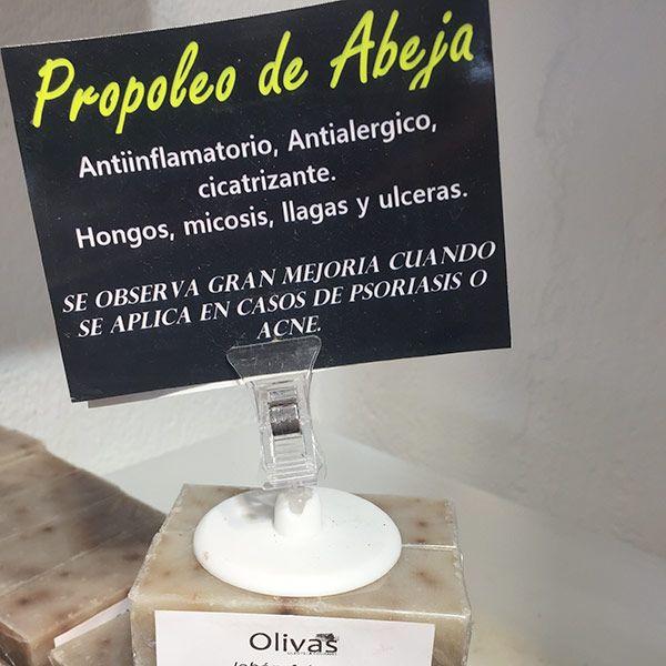 Jabón de Propoleo de Abeja zahara