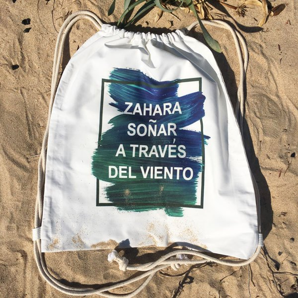 Mochila Grande Zahara Playa Soñar Viento