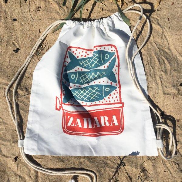 Mochila Grande Zahara Playa lata