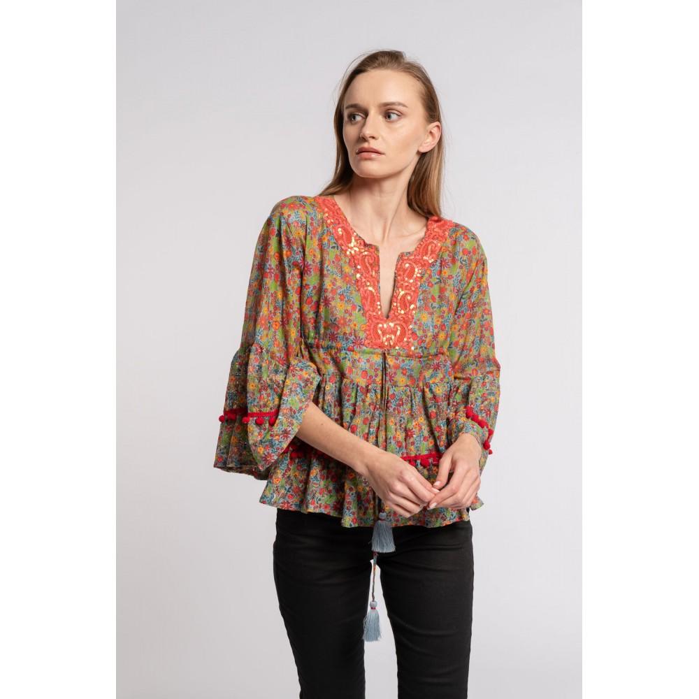 Tunica camisola Flor 1