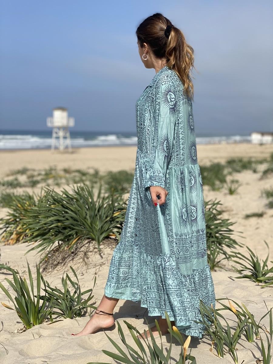 Vestido Blue Zahara