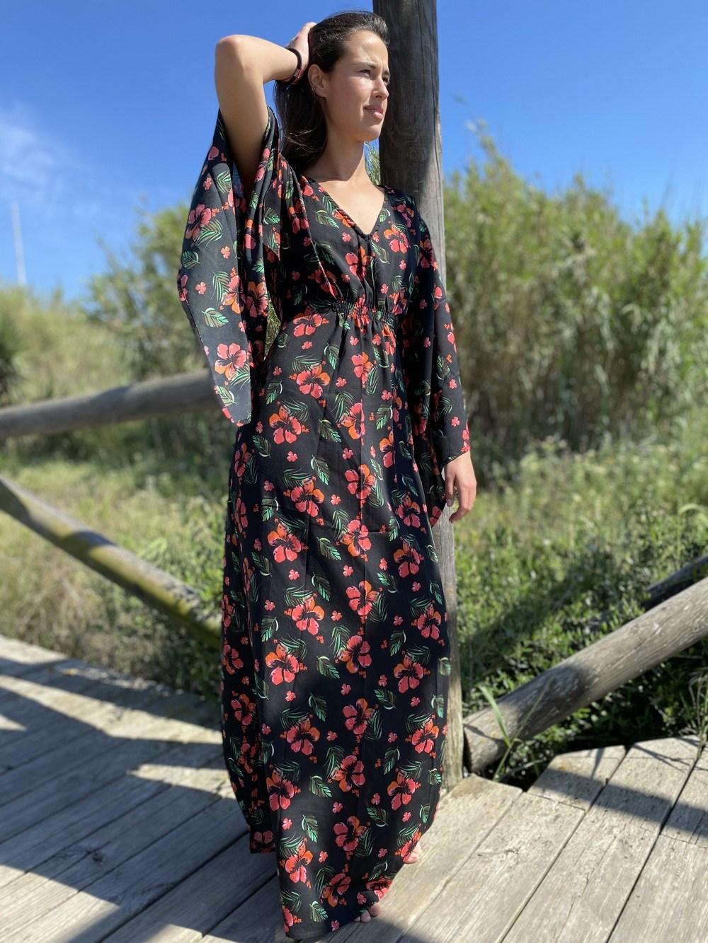 Vestido Monica Casual Maxi