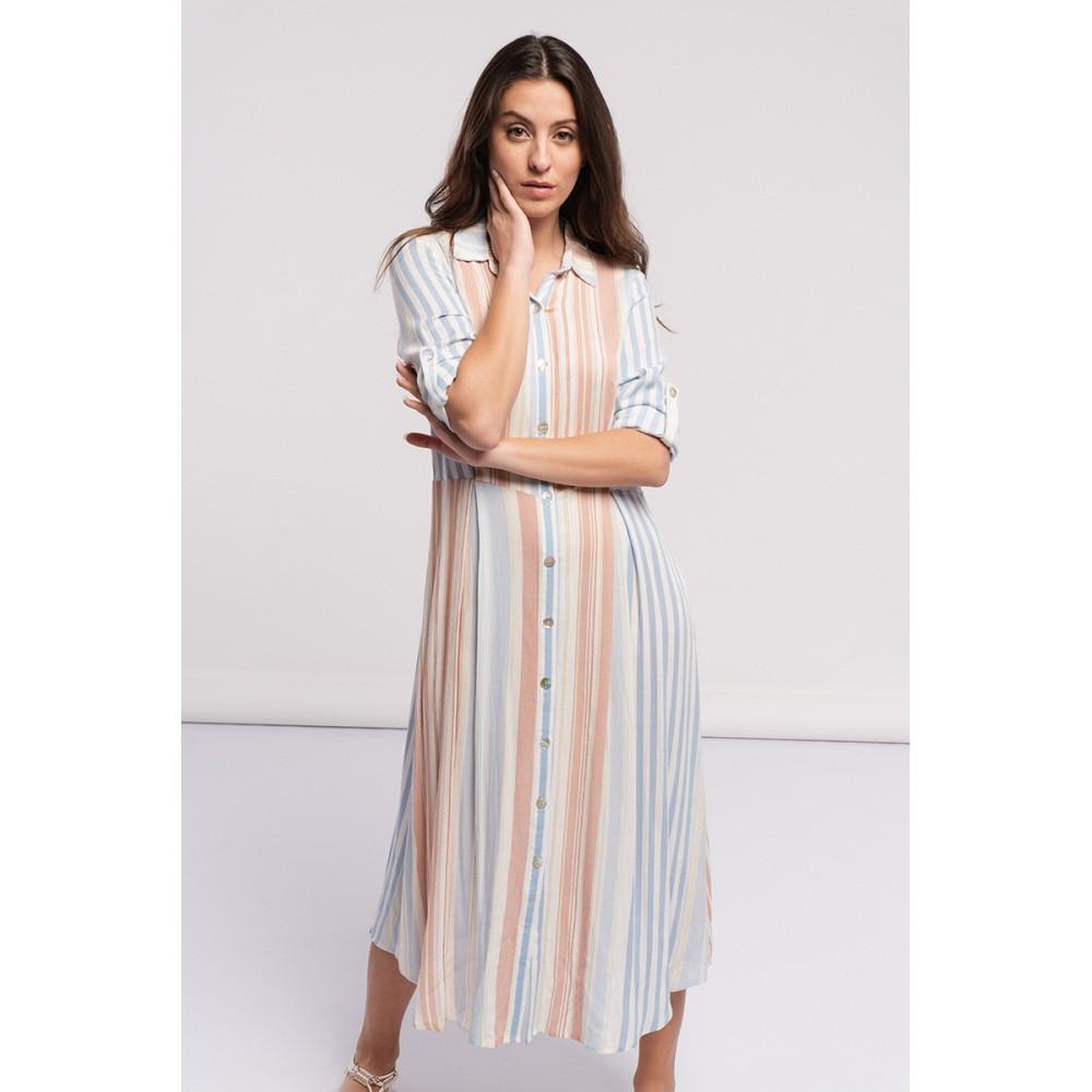 Vestido Mujer Líneas