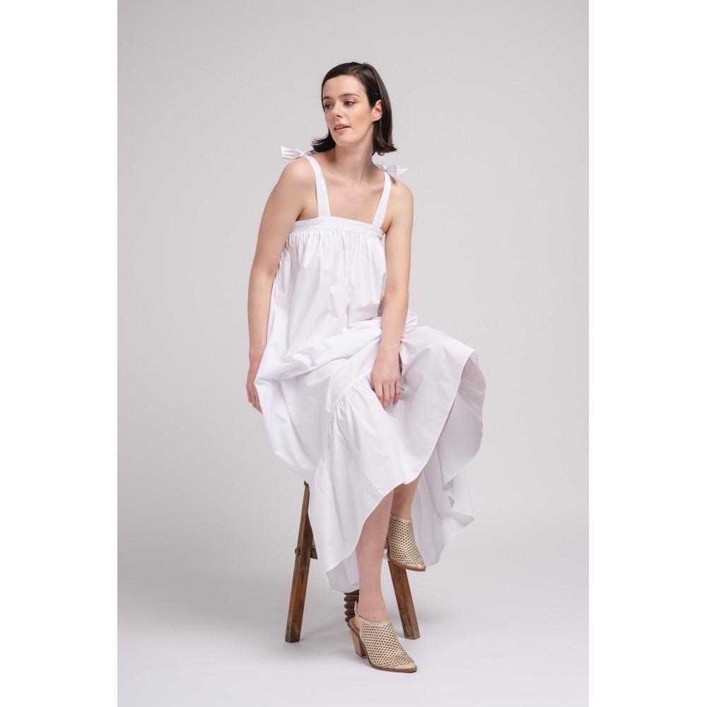 Vestido Oversize beige