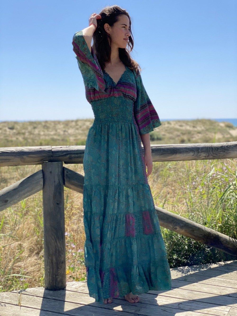Vestido Seda Almadraba