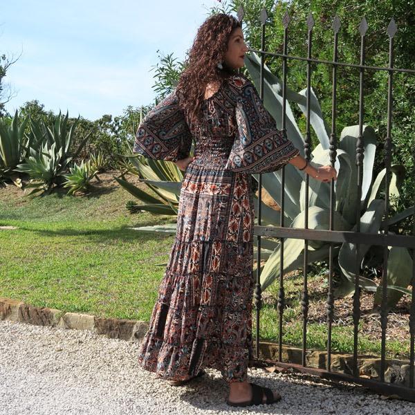 Vestido Vera fusion Seda