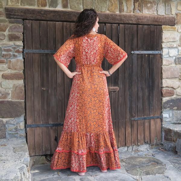 Vestido mujer Boho chic Sol