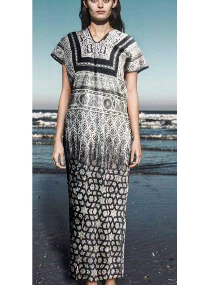 Vestido túnica África Batik zahara