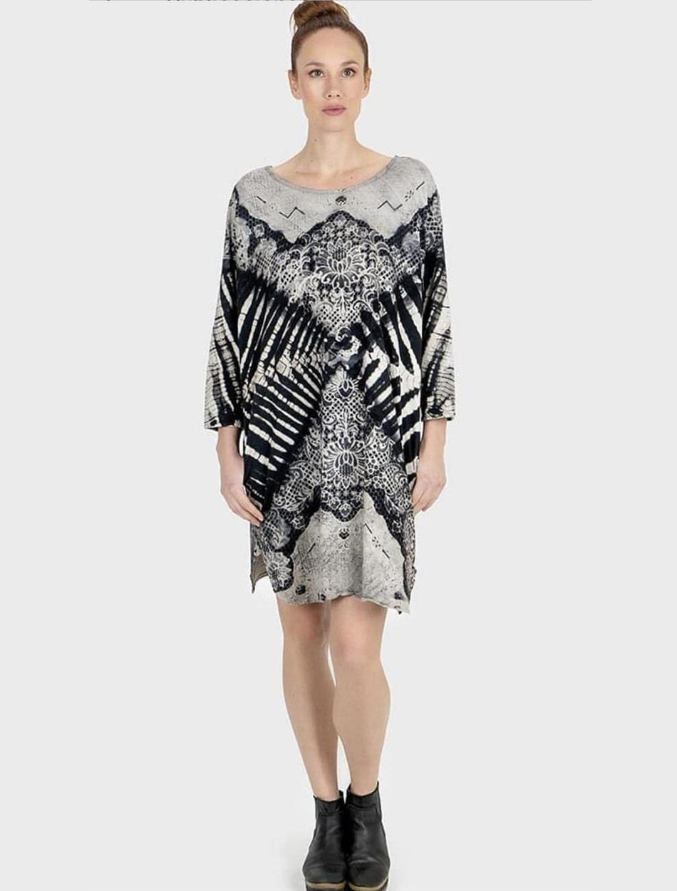 Vestido túnica zahora batik zahara