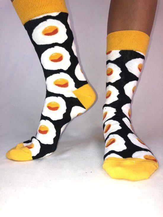 calcetines trankilo huevo frito