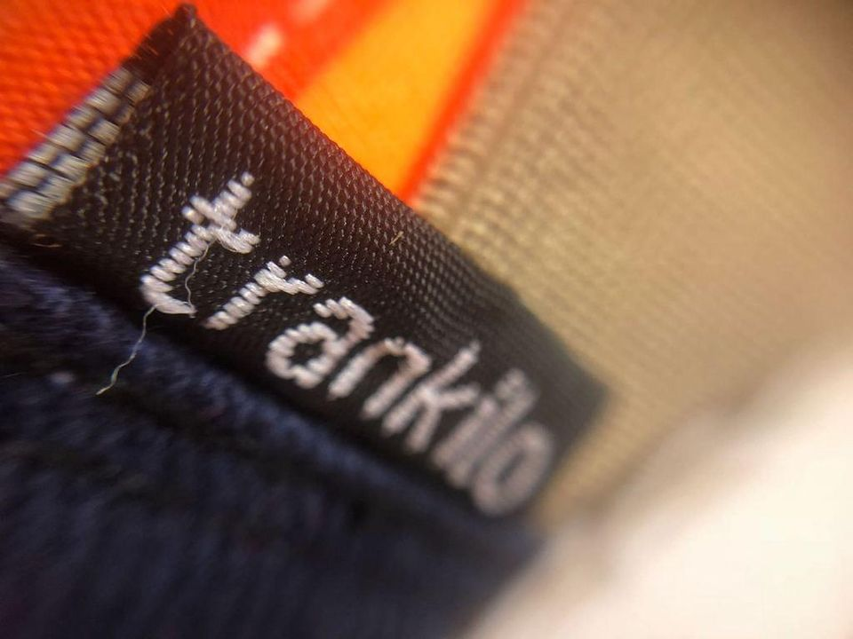 Zapatilla Esparto Neopreno Naranja detalle 2