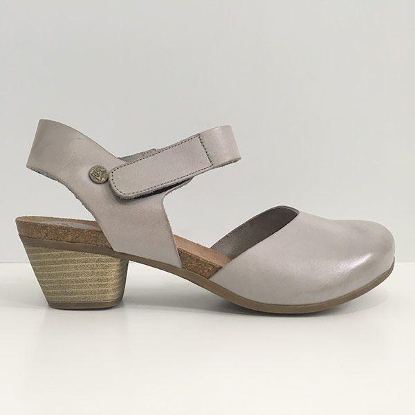 Zapatos Bio Mujer gris Zahara