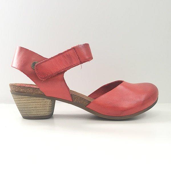 Zapatos Bio de mujer Jonnys rojo