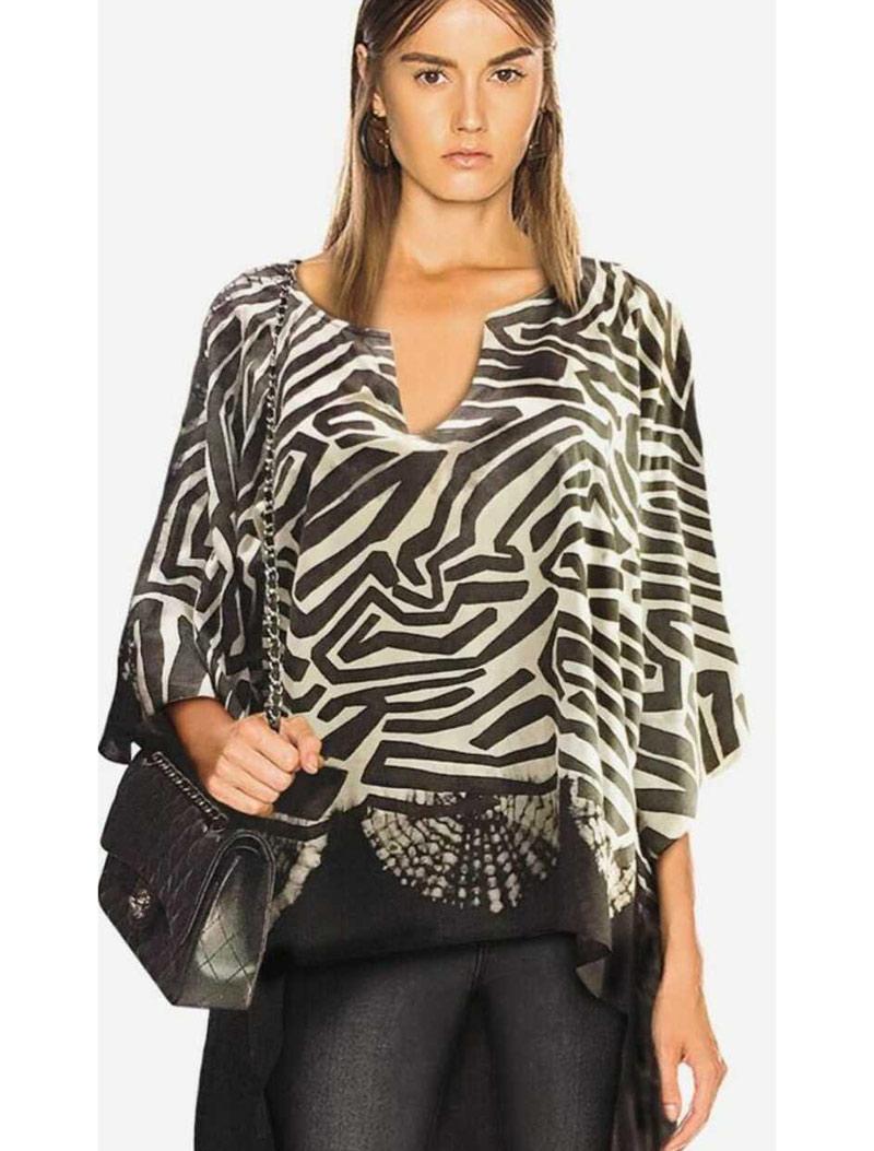 Blusa x batik en rayon zahara