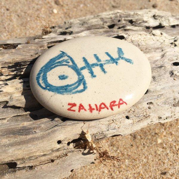 imanes personalizados zahara pez azul