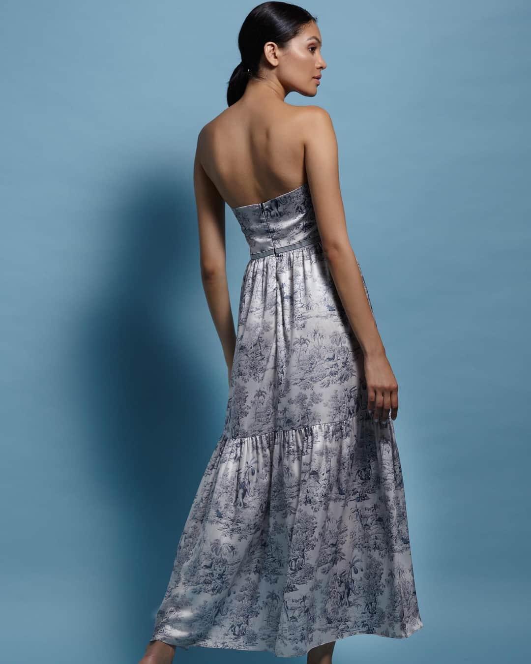 vestido viscosa la trastienda zahara